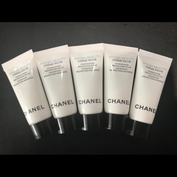 e46eda59afece Chanel 5 pieces Hydra Beauty Creme Riche